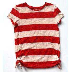 Old Navy Striped Side Tie Top Size 5T
